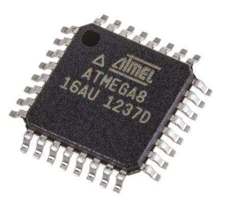 Atmega8 Микроконтроллер Atmega8 в корпусе tqfp32 Большетроицкое, atmega8 в Большетроицком, микроконтроллеры - Цена, Стоимость - 100 руб.(доставка по всей России)