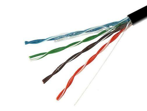 Кабель UTP Exegate наруж. применения Кабель UTP 4 пары для уличного применения, ед. измерения метр. кабель utp - Цена, Стоимость - 20 руб.(доставка по всей России)