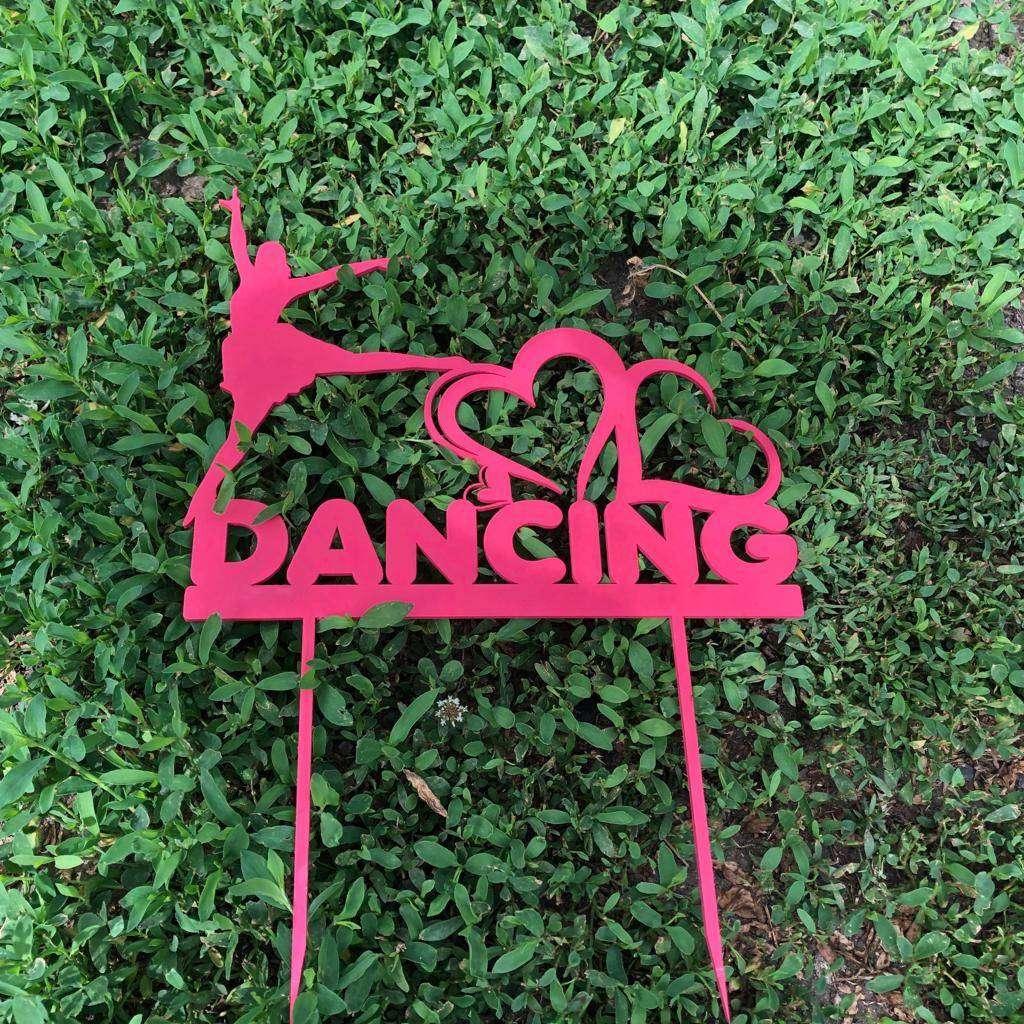 Топпер «Dancing» Топпер Dancing, может быть выполнен в различных цветах. Размеры 30х12 см  - Цена, Стоимость - 180 руб.(доставка по всей России)