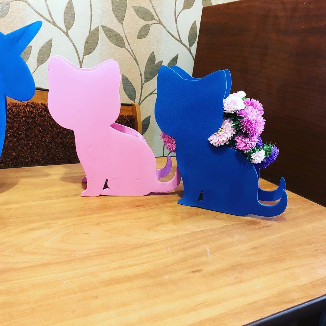 Кашпо «КотоБокс» Кашпо в виде котенка. Размеры 24х19х10 см Коробочки, Ящики,Кашпо, Котенок, Упаковка для подарка, Боксы для подарков, Бокс для цветов - Цена, Стоимость - 350 руб.(доставка по всей России)
