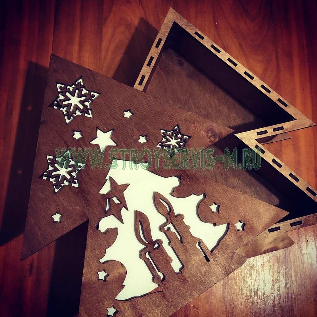 Ёлочка на Новый Год  Подарок, упаковка для подарка, елочка упаковка - Цена, Стоимость - 350 руб.(доставка по всей России)