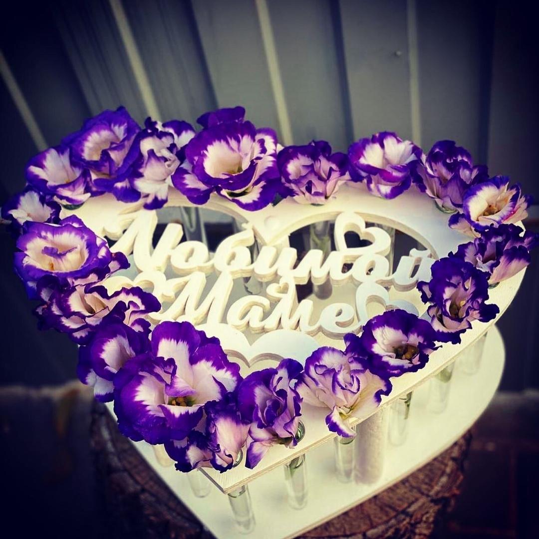 Роза в пробирке - «Любимой маме» Кашпо рассчитано на 19 цветов. Роза в пробирке, Кашпо, Коробочка для букета, Любимой маме, Подарок к дню матери, День Матери, Наложенный платеж, Белгород, Курск, Тамбов - Цена, Стоимость - 650 руб.(доставка по всей России)