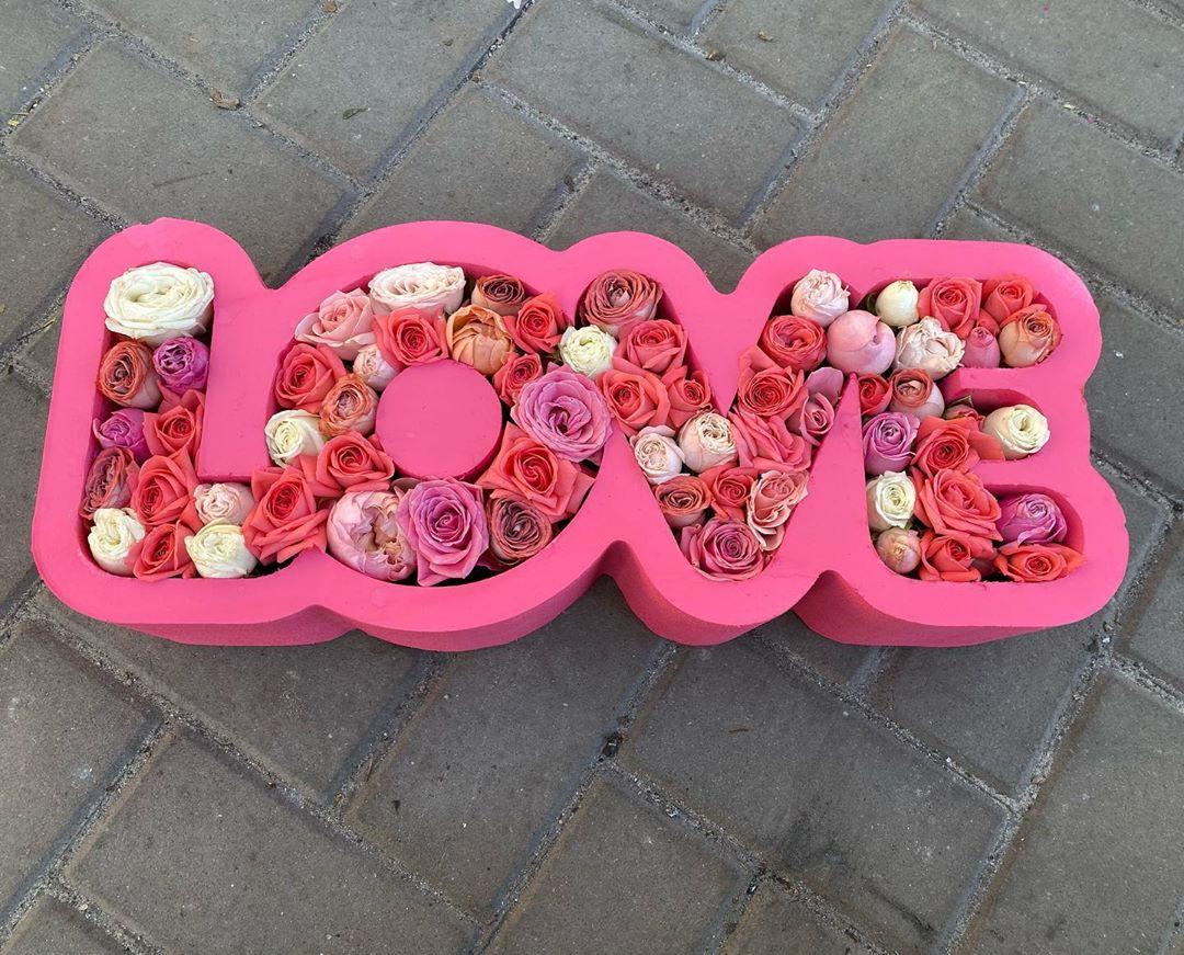 Пенобокс - «Love» Размер 50х19х10 см. (ДхВхШ)  Цвет алый.  Прочный пенобокс. Не течет ! #пенобоксыбелгород, #пенобоксы, пенобоксы, пенобоксыбелгород, Белгород, Пенобоксысердце - Цена, Стоимость - 270 руб.(доставка по всей России)