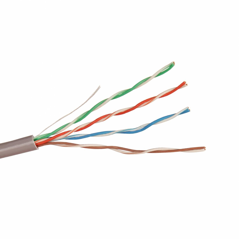 Кабель UTP внутр. применения Кабель UTP 4 пары для прокладки в помещении, ед. измерения метр. кабель utp - Цена, Стоимость - 15 руб.(доставка по всей России)