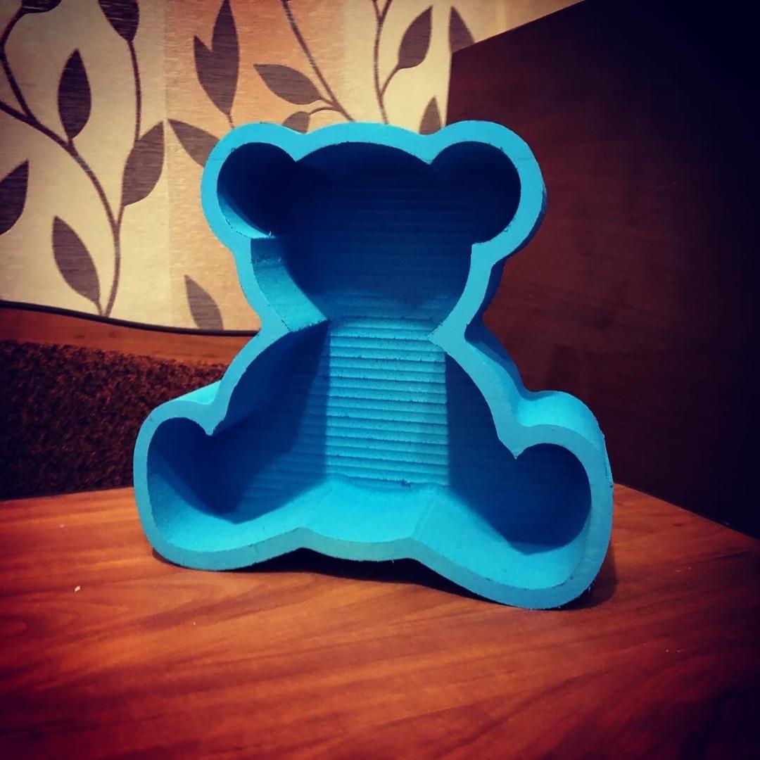 Пенобокс - «Мишка Тедди» Размеры  28х26х10 см (ДхВхШ) #пенобоксыбелгород, #пенобоксы, пенобоксы, пенобоксыбелгород, Белгород, Пенобоксысердце - Цена, Стоимость - 160 руб.(доставка по всей России)
