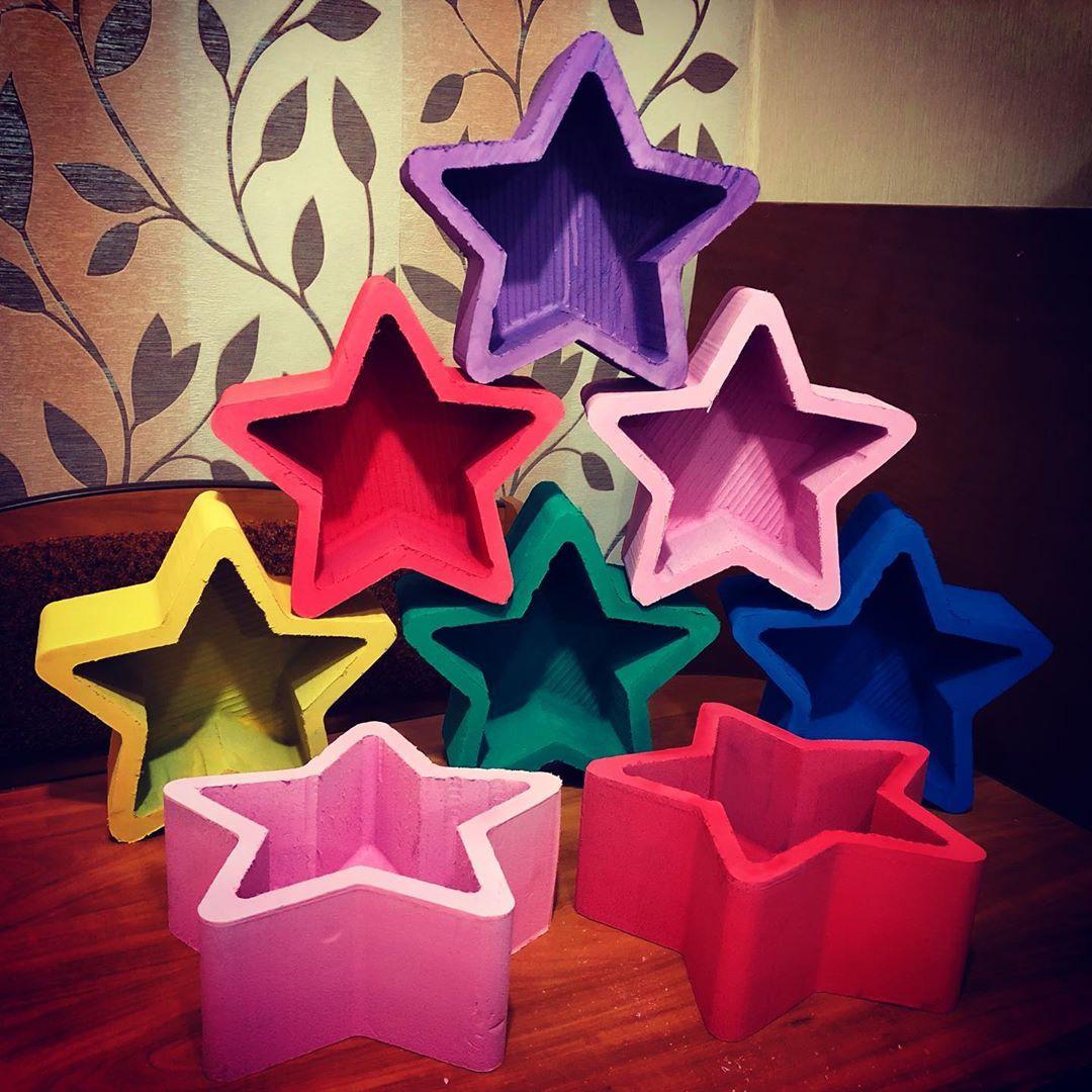 Пенобокс - «Звезда» Размер 25х25х10 см.  Прочный пенобокс. Не течет ! #пенобоксыбелгород, пенобоксзвезда, коробочка для цветов,пенобоксдлясладостей, пенобоксы, для сладостей, упаковка для букета - Цена, Стоимость - 160 руб.(доставка по всей России)