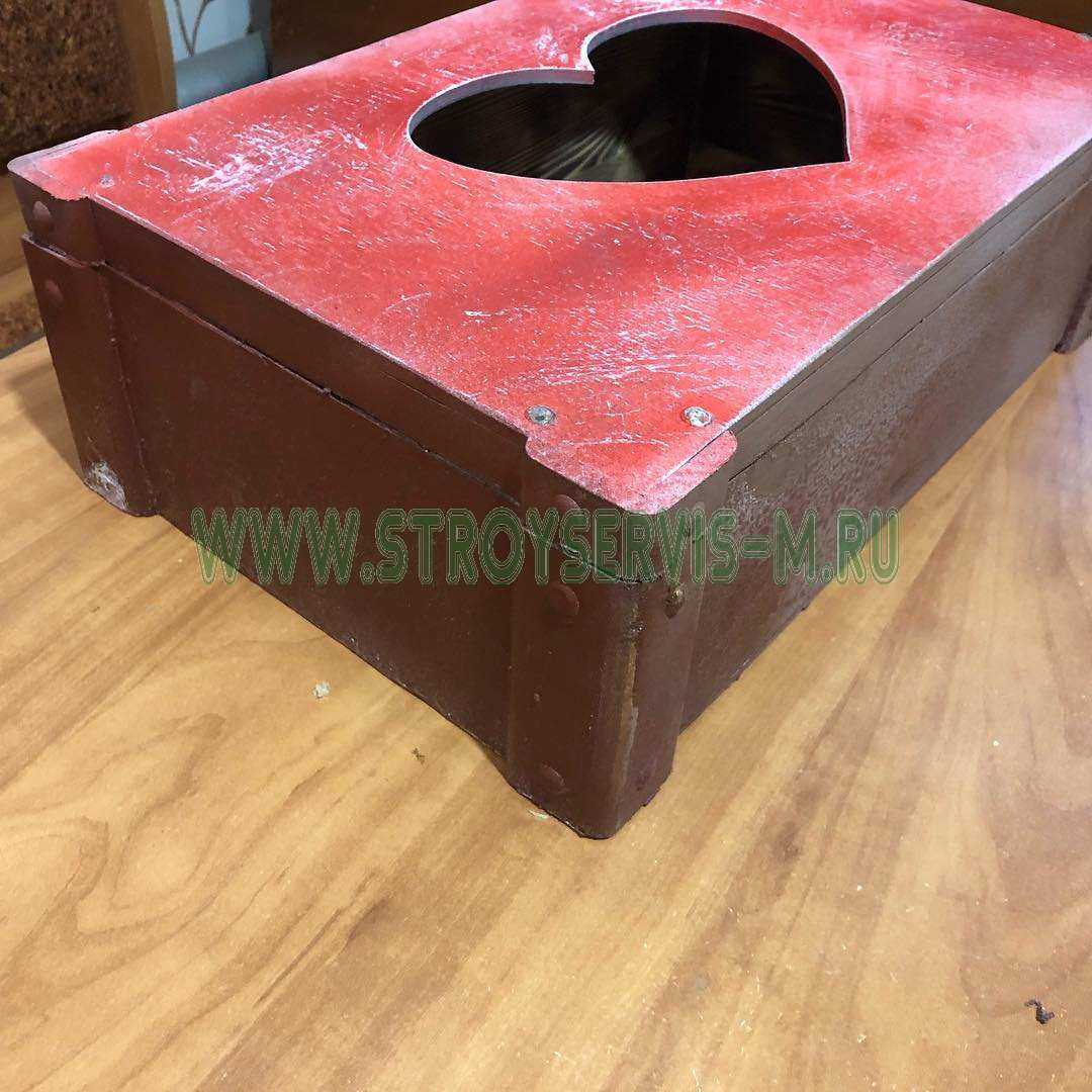 Винтажный ящик «Сердце» Ящик для составления подарка. Размеры 40х30х10 см Винтажный ящик, упаковка для подарка - Цена, Стоимость - 750 руб.(доставка по всей России)
