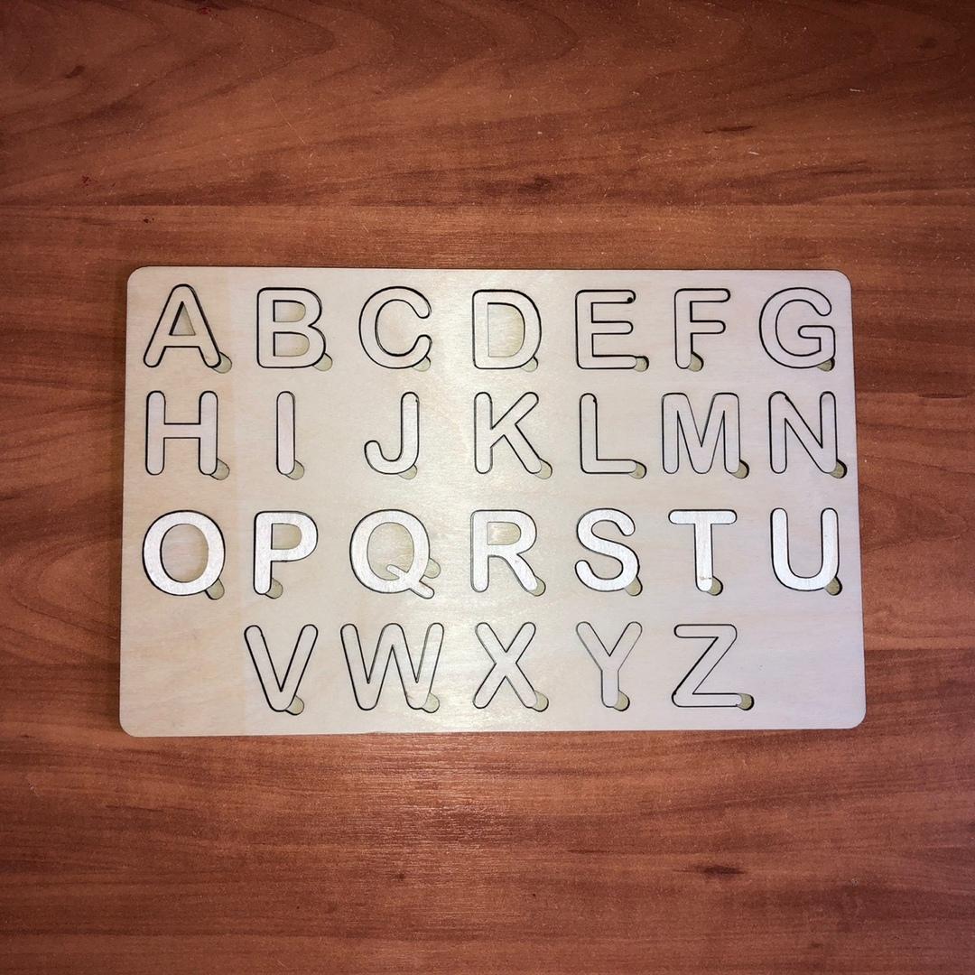 Азбука для детей «Английский» Английский алфавит из дерева. Размеры 30х19 см Английский алфавит, алфавит из дерева. азбука для детей, алфавит из фанеры - Цена, Стоимость - 160 руб.(доставка по всей России)
