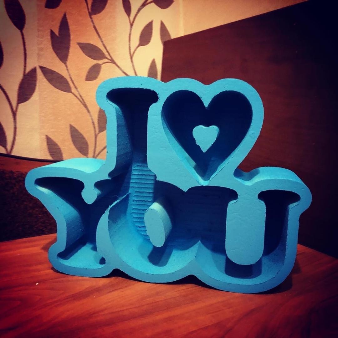 Пенобокс - «I Love You» Размеры  37х27х10 см (ДхВхШ) #пенобоксыбелгород, #пенобоксы, пенобоксы, пенобоксыбелгород, Белгород, Пенобоксысердце - Цена, Стоимость - 330 руб.(доставка по всей России)
