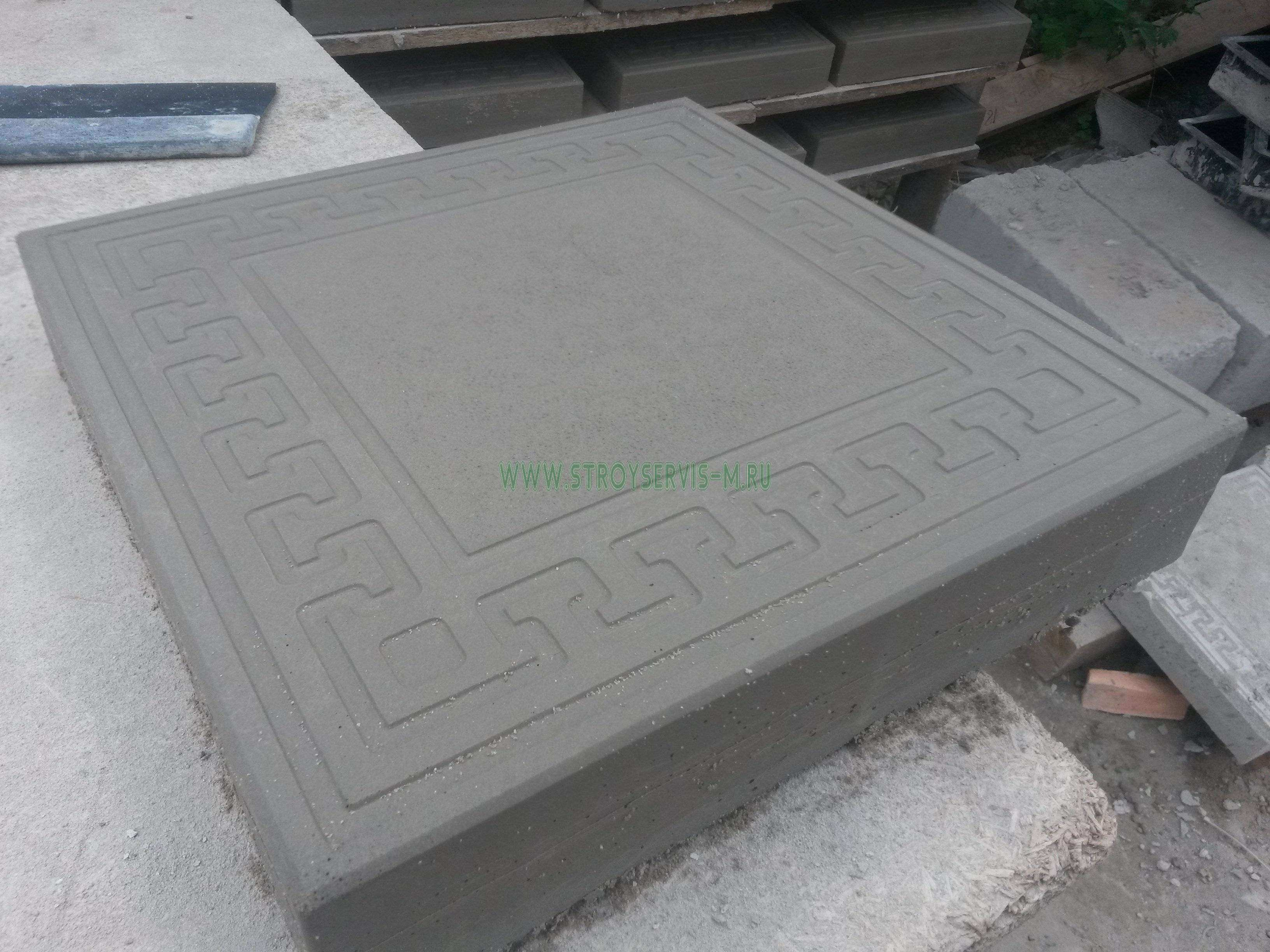 Плитка «Готика» Размер 300х300х45 мм. В 1 м2 - 11 шт. Стоимость указана за 1 шт.. Тротуарная плитка - Цена, Стоимость - 43 руб.(доставка по всей России)