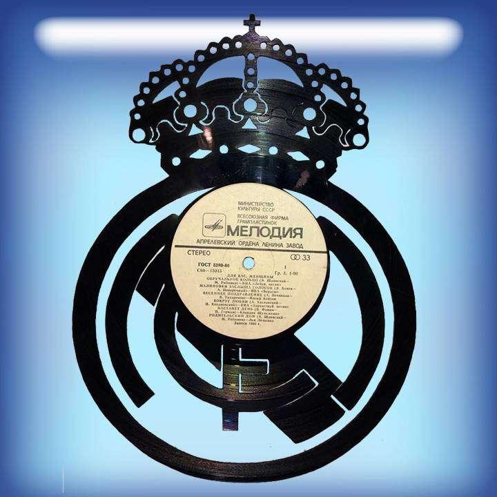 Реал Каркас для изготовления часов из пластики в тематике - Реал Real,Часы из пластинки,Реал - Цена, Стоимость - 300 руб.(доставка по всей России)